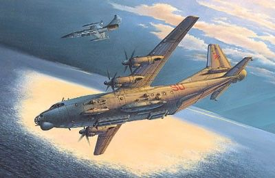 1/72 An12BK PPS Soviet Transport Aircraft - Roden 46