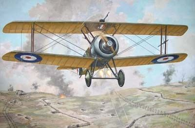 1/72 Sopwith TF1 Camel Trench RFC BiPlane Fighter - Roden 52