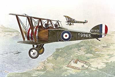 1/72 Sopwith F1 Camel 2-Seater Trainer RFC BiPlane - Roden 54