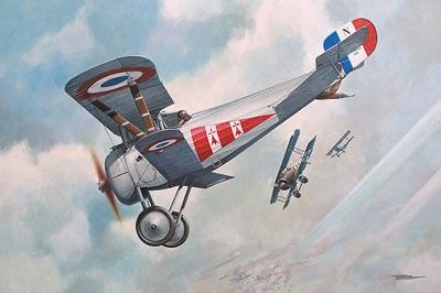 1/72 Nieuport 24bis WWI BiPlane Fighter - Roden 59