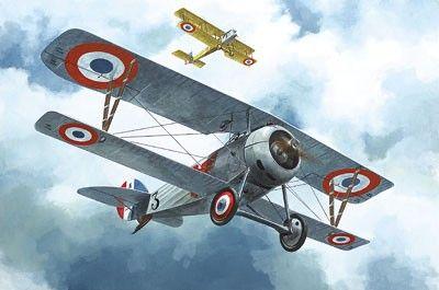 1/72 Nieuport 24 Biplane Fighter - Roden 60