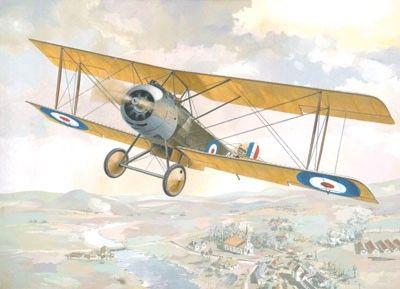 1/48 Sopwith 1-1/2 Strutter Single-Seater WWI British BiPlane Bomber - Roden 404