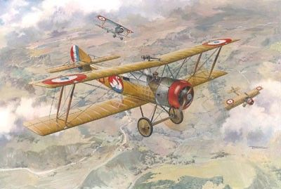 1/48 Sopwith 1B1 WWI French BiPlane Bomber - Roden 411