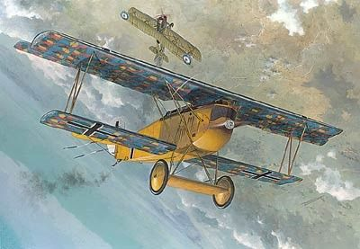 1/48 Fokker D VII F German BiPlane Fighter - Roden 417