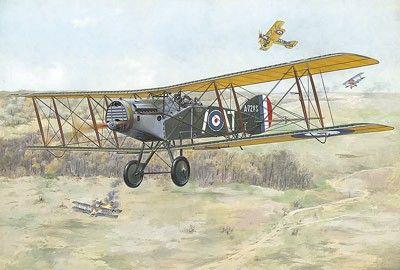 1/48 Bristol F2B WWI British BiPlane Fighter - Roden 425