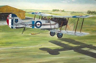 1/48 Bristol F2b MkIV WWI RAF BiPlane Fighter - Roden 428