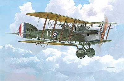1/48 Bristol F2B WWI British BiPlane Fighter w/Sunbeam Arab Engine - Roden 429