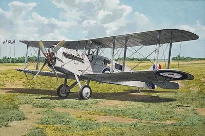 1/48 DeHavilland DH4a British WWI Passenger Biplane - Roden 431