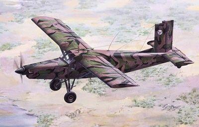 1/48 Pilatus PC6B2/H2 Turbo-Porter Light Military Transport Aircraft - Roden 443