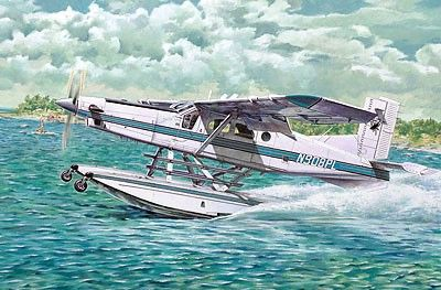 1/48 Pilatus PC6B2/H2 Turbo-Porter Light Transport Floatplane - Roden 445