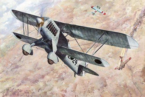 1/48 Heinkel He51 B1 Biplane Fighter - Roden 452