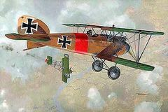 1/32 Albatros D III WWI German BiPlane Fighter - Roden 606