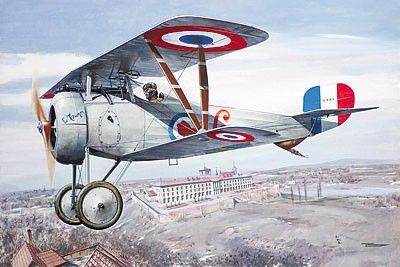 1/32 Nieuport 24bis WWI Biplane Fighter - Roden 611