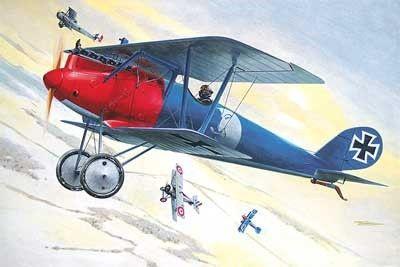 1/32 Pfalz DIII WWI German BiPlane Fighter - Roden 613