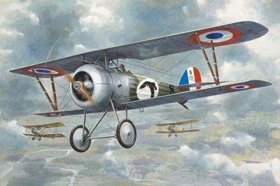 1/32 Nieuport 24 WWI RAF BiPlane Fighter - Roden 618