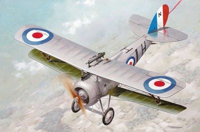 1/32 Nieuport 27c1 WWI RAF Biplane Fighter - Roden 630