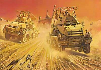 1/72 SdKfz 263 (8 Rad) Schwerer PzFuWg Armored Vehicle - Roden 708