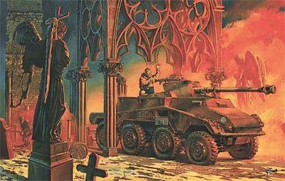 1/72 SdKfz 234/4 PakWagen Schwerer PzKanoneWg Armored Vehicle - Roden 709