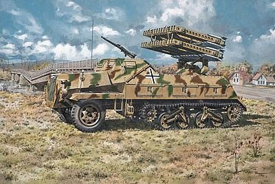 1/72 SdKfz 4/1 Panzerwerfer 42 (Late) Rocket Launcher - Roden 714