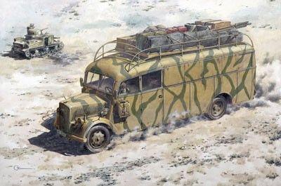 1/72 Opel Blitz 3.6-47 Stabswagen Omnibus - Roden 723