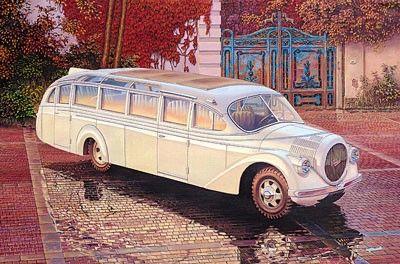 1/72 Opel Blitz Aero (1937) Ludewig Salon Omnibus - Roden 724
