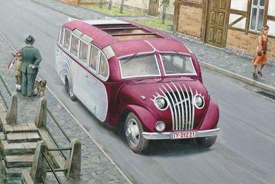 1/72 Opel Blitz Strabenzepp Essen Omnibus - Roden 725