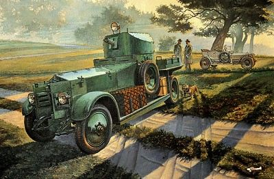 1/35 Pattern 1920 MkI British Armored Car - Roden 801