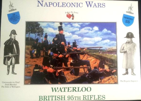 1/32 Napoleonic Wars: Waterloo British 95th Rifles (32) - A Call to Arms 35