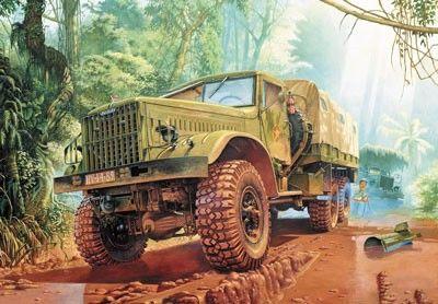 1/35 KrAZ214B Off-Road Transport Military Truck - Roden 804
