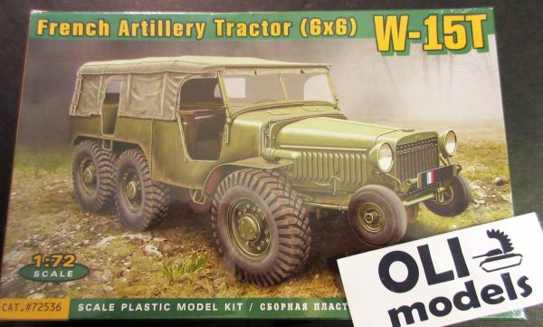 1/72 Laffly W15T 6x6 WWII French Artillery Tractor - ACE 72536