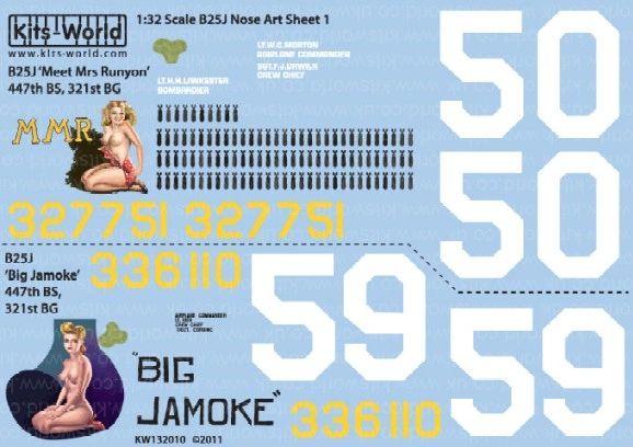1/32 B25J Meet Mrs Runyon, Big Jamoke - WBS-132010