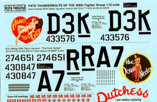 1/32 P47D Hard to Get, The Down Necker - WBS-132029
