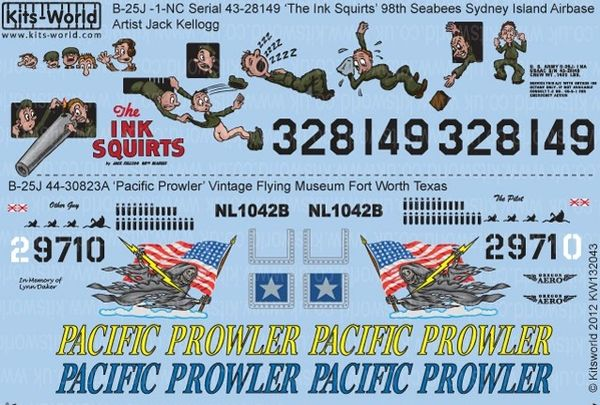 1/32 B25J The Ink Squirts, Pacific Prowler - WBS-132043
