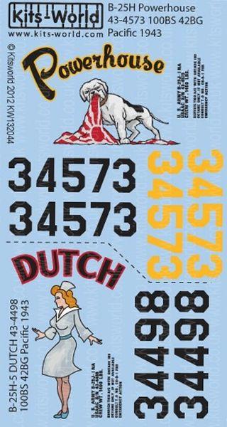 1/32 B25H Powerhouse, Dutch - WBS-132044