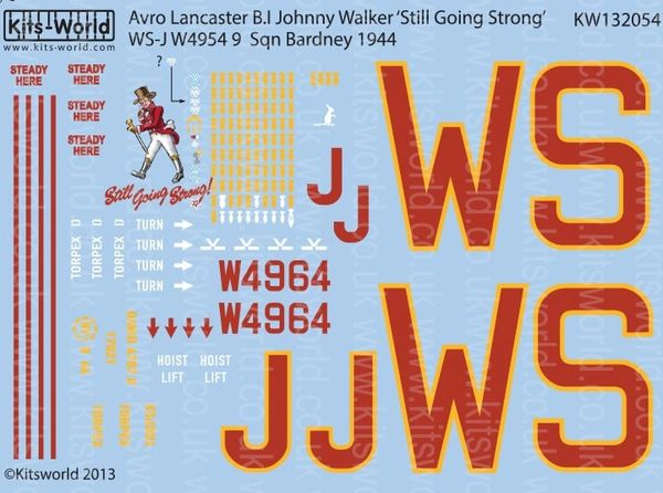 1/32 Avro Lancaster B I Johnny Walker Still Going Strong - WBS-132054