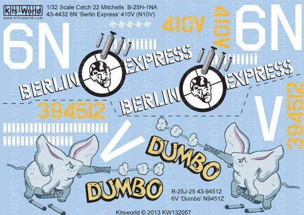1/32 B25J Berlin Express, Dumbo - WBS-132057