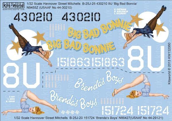1/32 B25J Big Bad Bonnie, Brenda's Boys - WBS-132060