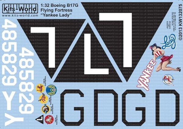 1/32 B17G Yankee Lady - WBS-132075