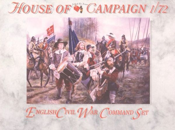 1/72 English Civil War: English Command Set (32) - A Call to Arms 62