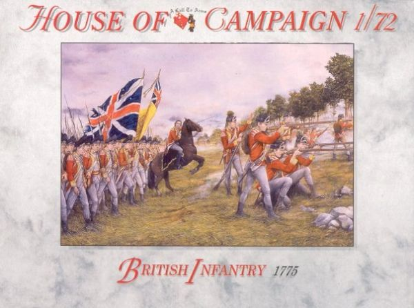 1/72 British Infantry 1775 (32) - A Call to Arms 65