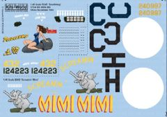 1/48 B24s Doodlebug, Screamin Mimi - WBS-148044
