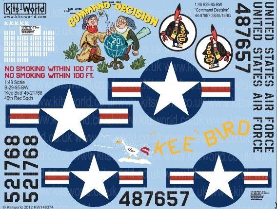 1/48 B29 Command Decision, Kee Bird - WBS-148074