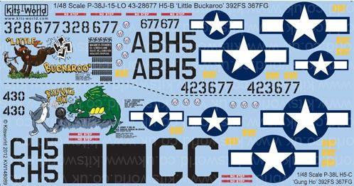 1/48 P38J/L Little Buckaroo, Gung Ho - WBS-148089