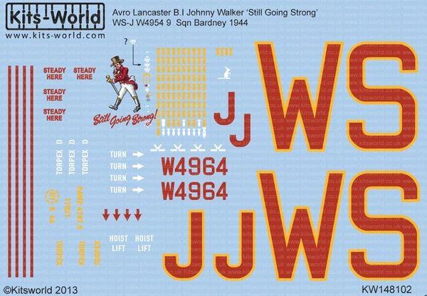 1/48 Avro Lancaster B I Johnny Walker Still Going Strong - WBS-148102