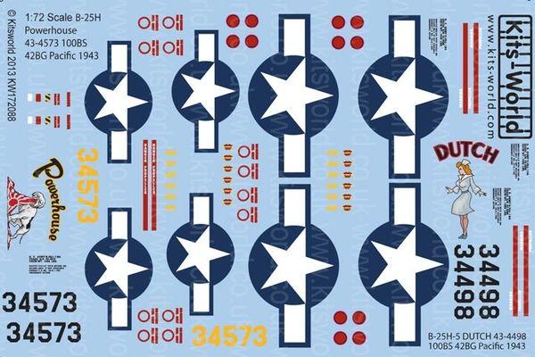 1/72 B25H Powerhouse, Dutch - WBS-172088