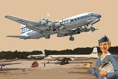 1/144 DC7C Pan American Airliner - Roden 301