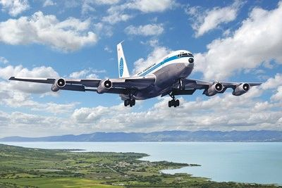 1/144 B720B Pan Am Pan American Airliner - Roden 319