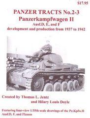 Panzer Tracts No.2-3 PzKpfw II Ausf D/E/F