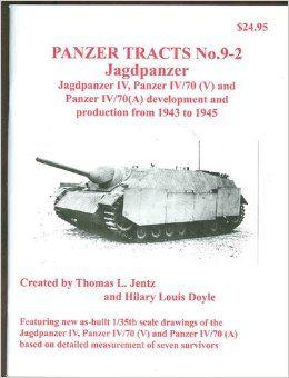 Panzer Tracts No.9-2 JagdPz IV, Pz IV/70 (V) & (A)