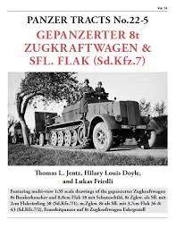 Panzer Tracts No.22-5 Gepanzerter 8t Zugkraftwagen & SflFlak (SdKfz 7)
